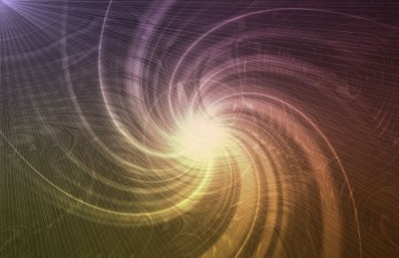Abstract Vortex Background Texture in Soft Lines