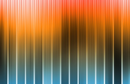 Orange Energy Spectrum With Data Grid Lines photo