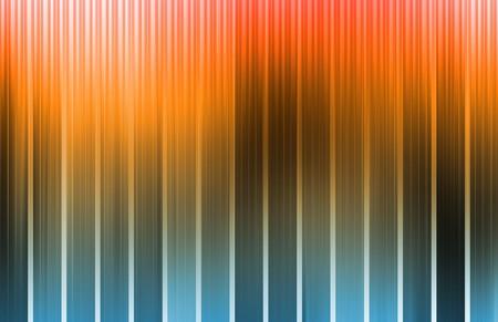 Orange Energy Spectrum With Data Grid Lines photo