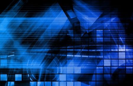 Advanced Technology Science As a Art Background Фото со стока