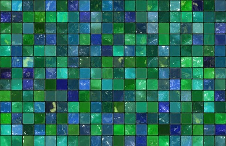 Mosiac Tiles Background as a Colorful Abstract Stock Photo - 7249036