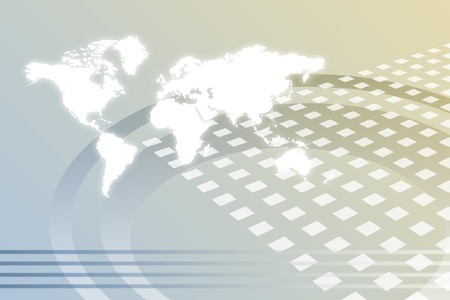 web marketing: Corporate Worldwide Growth Abstract Background With Map Stock Photo