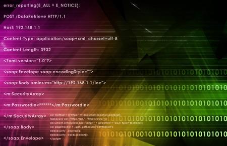 logic: L�gica de aplicaciones Web en Internet como fondo  Foto de archivo