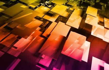 telecomm: Ciencia m�dica Futuristic tecnolog�a como un arte  Foto de archivo