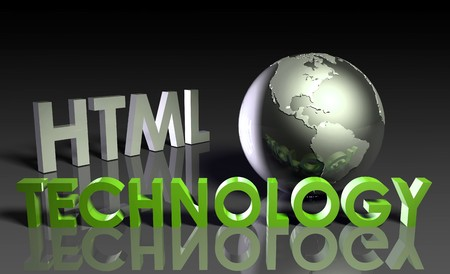HTML Technology Internet Abstract as a Concept  Stock Photo - 7261448