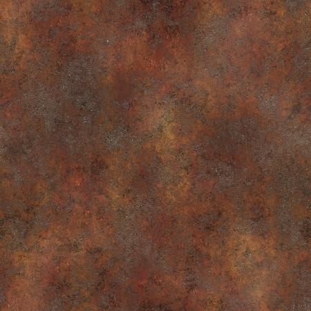 Nahtlose Ruster Texture als Rusted Metal Hintergrund  Standard-Bild - 7265589