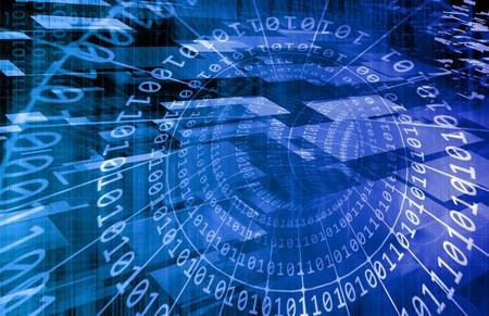 아트와 같은 디지털 배경 인터넷 개념