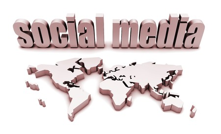 Social Media Platform For A Global Audience Stock Photo - 7286641