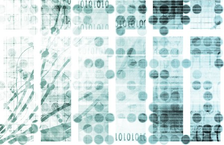 mesh: Futuristic Abstract as a Technology Background Art Stock Photo