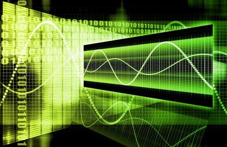 A Finance Spreadsheet Tech Graph Art Background Banco de Imagens