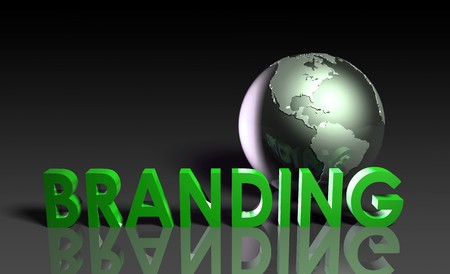Global Branding and Awareness of a Brand Name Stock Photo - 7287228