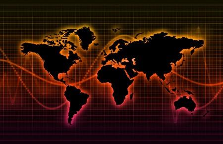 telecommunications industry: Telecommunications Industry Global Network as Art