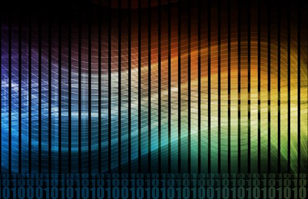 Futuristic Abstract as a Technology Background Art Stock Photo - 7312863