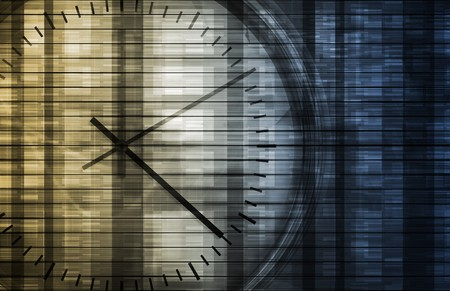 Business Management of Time and Schedule Concept photo
