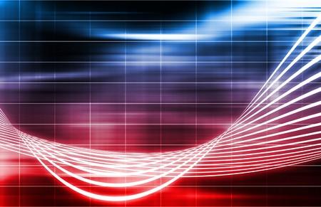 A Data Network Internet Tech Abstract Art Stock Photo - 7312846