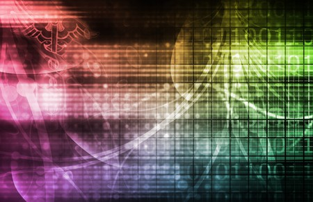 Technology Background as a Digital Abstract Art Stock Photo - 7322433