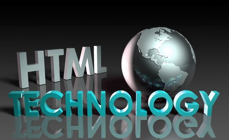 HTML Technology Internet Abstract as a Concept  Stock Photo - 7322423