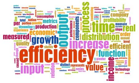작업장에서의 효율성 개념