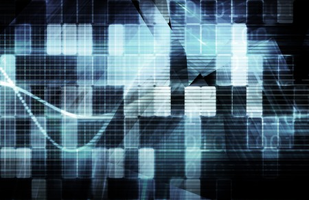 Data Network with Fast Moving Data Packets Stock Photo - 7322437