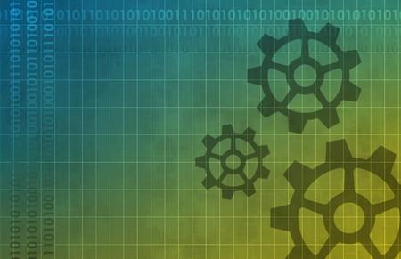 data: Mechanical Background Art Data Design Abstract Stock Photo
