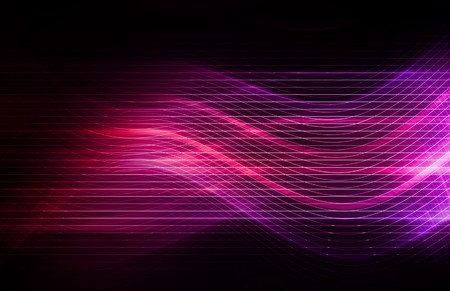 Technology Background as a Digital Abstract Art Stock Photo