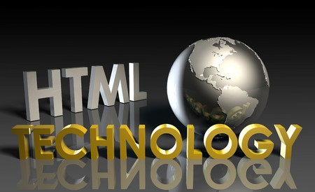 HTML Technology Internet Abstract as a Concept Stock Photo - 7338446