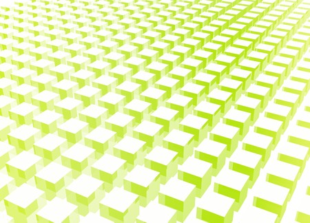 Simple and Clean Block 3d Abstract Background in Green photo