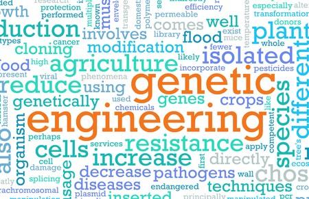 Genetische ingenieurs wetenschappen als een abstract concept