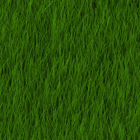 cut grass: Cartoon Grass Background Illustration as a Art