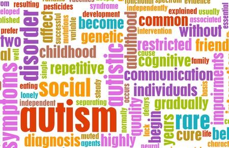 complicación: Concepto de autismo como un fondo de condici�n m�dica