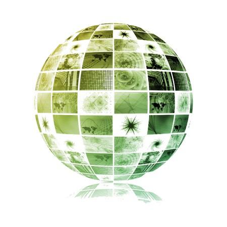 gprs: Telecommunications Industry Global Network as Art