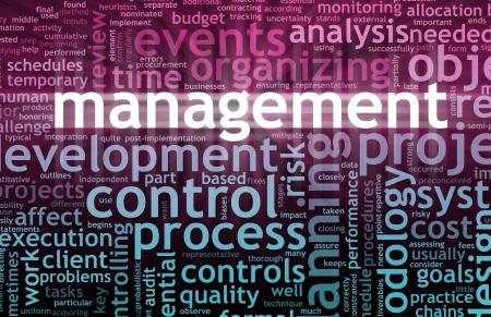 Concept de gestion dans le lieu de travail de bureau  Banque d'images - 7399509