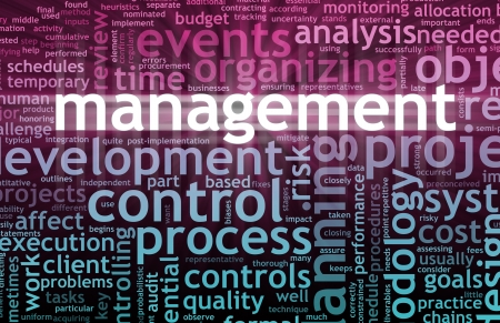 Management Concept in the Office Work Place Stock Photo - 7399509