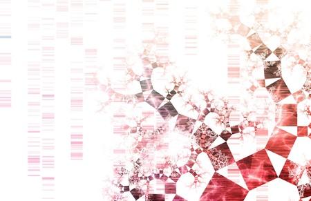Technologie Concept achtergrond met een wetenschap kunst