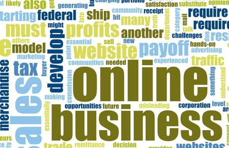 terminology: Online Business Set Up Home Website Art