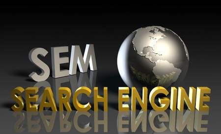 Search Engine Marketing SEM Ranking as Concept Stock Photo - 7425639
