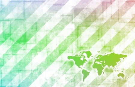 Global Business Color Technology Abstract in Colors photo