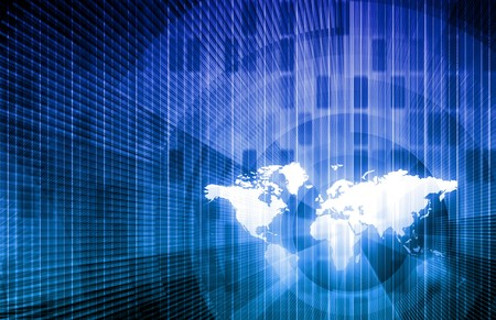international internet: Security Network Data of the World Background Stock Photo