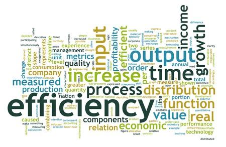effizient: Effizienz am Arbeitsplatz als Konzept