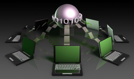 Data Mining Technology Strategy as a Concept Stock Photo - 8613828