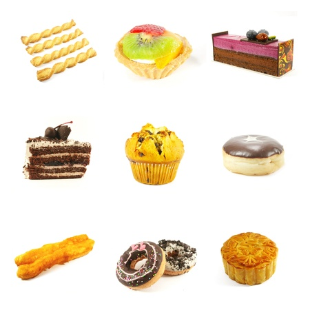 Single Pastries and Cakes Assorted Fun Selection photo
