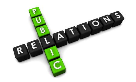 Public Relations Concept in the PR Industry Stock Photo - 8632399