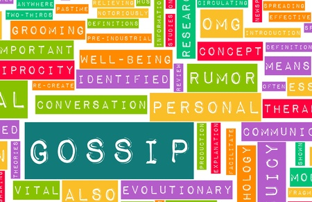 blab: Gossip and Rumors as a Concept Background