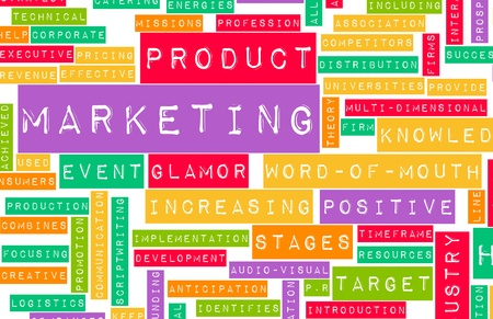Marketing Plan as a Concept in Business Stock Photo - 8657482