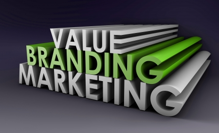 Branding and Marketing of a Product in 3D Format photo