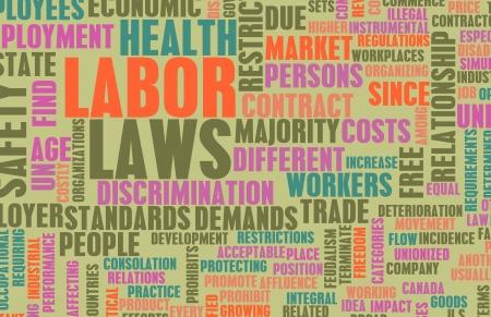 gewerkschaft: Arbeitsrecht im Arbeitsplatz als Konzept Lizenzfreie Bilder