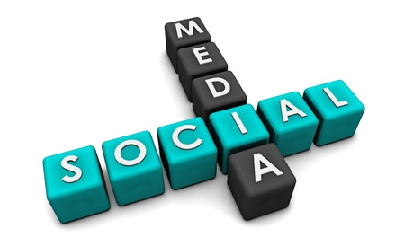 Social Media Interaction Technology on the Web Stock Photo - 8686141