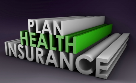 Health Insurance Plan Policy in 3D Art photo