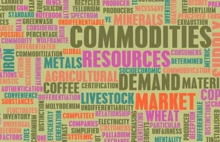 commerce: Commodities Trading ? l'?chelle mondiale en tant que Concept Banque d'images