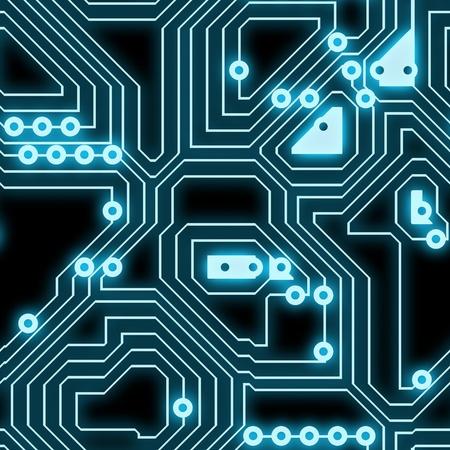 silicio: Sin problemas de un circuito fondo, como un arte de textura